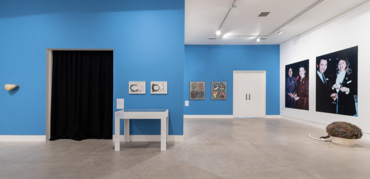 From the Kitchen Table: Drew Gallery Projects 1984-1990 (2019). Installation Photograph by Damian Griffiths courtesy Southwark Park Galleries.
